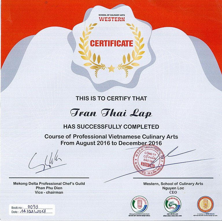 Certificate-English